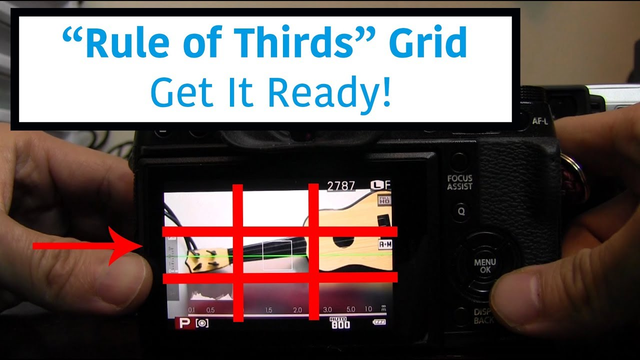 Framing Guideline only, The Grid Tutorial for Fuji Xt1 XE2 3x3, 4x6 ...