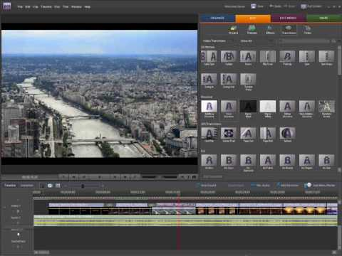 Adobe Premiere Elements 7 Review - YouTube