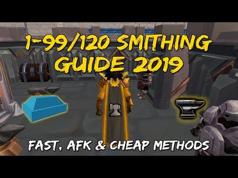 1-99/120 Smithing Guide 2019 | Mining & Smithing Rework [Runescape 3]