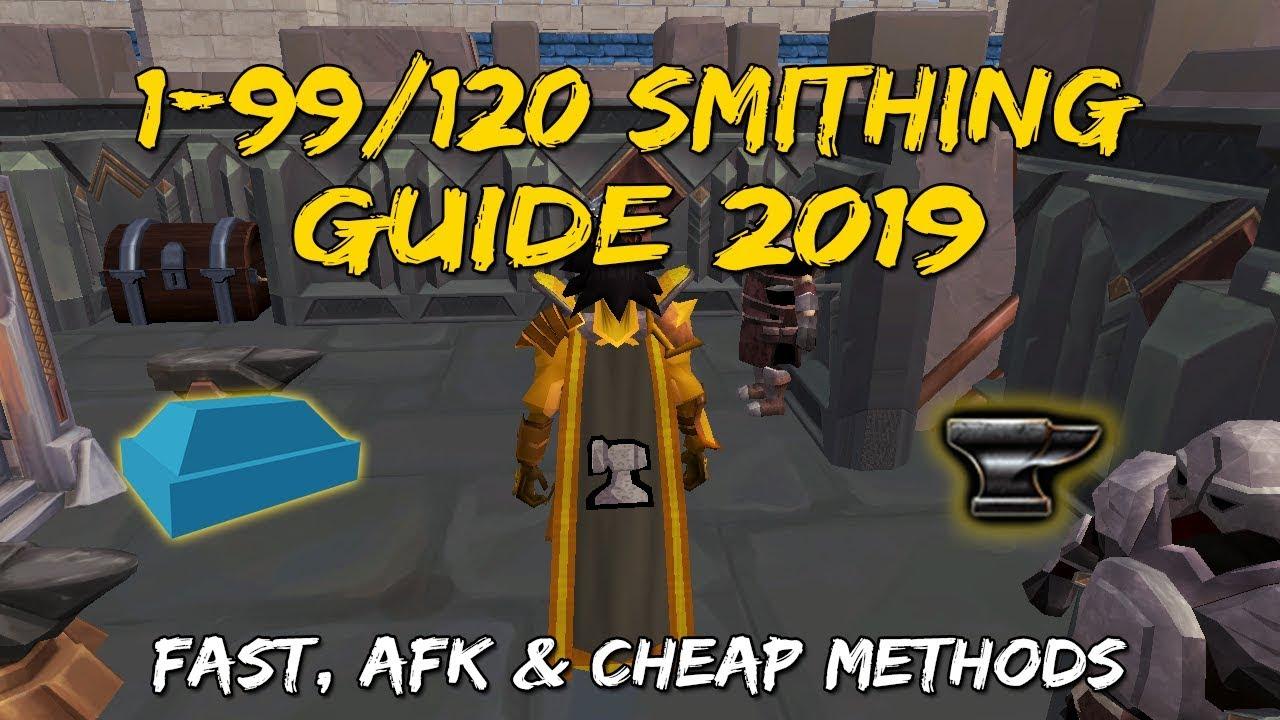 1-99/120 Smithing Guide 2019 | Mining & Smithing Rework [Runescape 3]