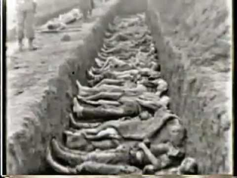First Newsreel Pictures Of The Liberation Of The Nazi Death Camps