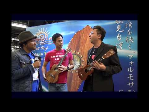 PukanaLa Ukulele on Ukulele Underground Channel at NAMM2014