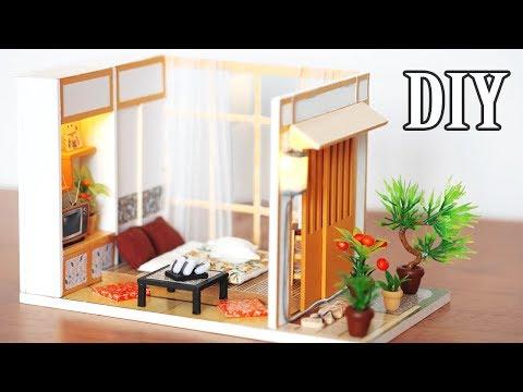 DIY Miniature Dollhouse Kit || Simple Life - Miniature Land