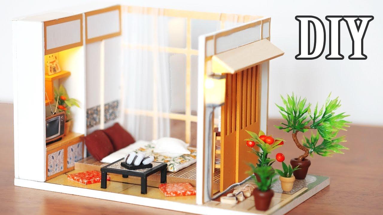 Diy Miniature Dollhouse Kit Simple Life Miniature