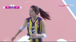 [12.4.2017: Final: 1] Fenerbahçe - Galatasaray : 2016-2017 Turkish Women's Volleyball League