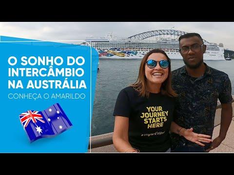 O SONHO DO INTERCÂMBIO NA AUSTRÁLIA - Conheça o Amarildo