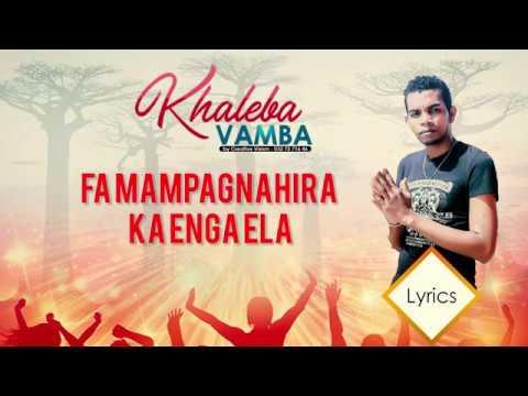 Khaleba - Vamba (Parole officiel) | Creative Vision 2019 |
