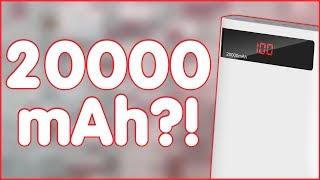 Romoss Sense 6P | РЕАЛЬНО 20000 mAh?! | ЧЕСТНЫЙ ОБЗОР😎