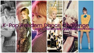 K-Pop Random Dance Challenge (with Countdown and  Mirrored Video)