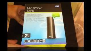 Unboxing Western Digital My Book Live HDD
