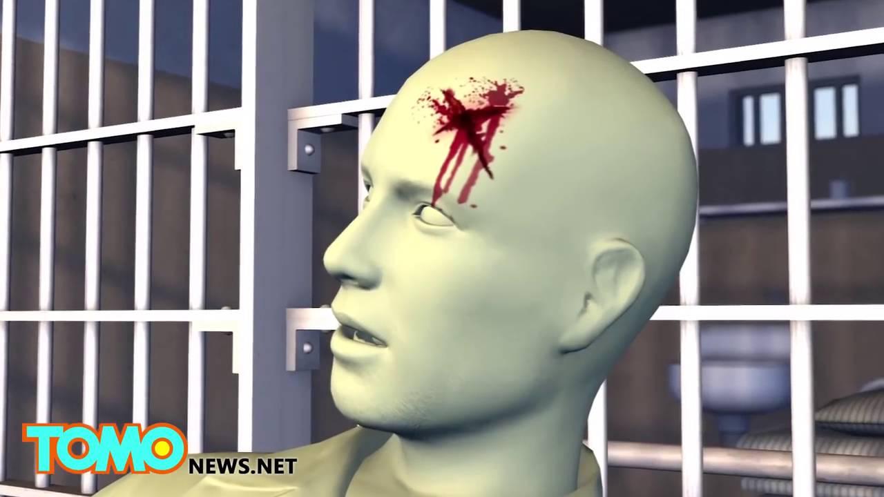 Inmate disemboweled