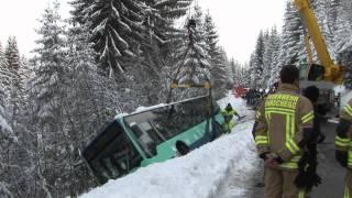 Bus-Bergung