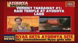 Ayodhya Verdict : Ram Mandir To Be Built At Ayodhya Land, Babri Masjid To Get Alternate Land