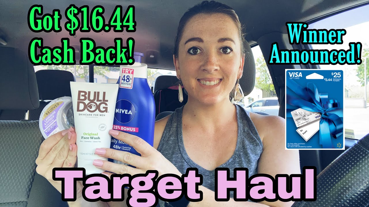 Target Couponing this Week! Giveaway Winner Announced!