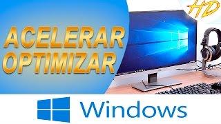Acelerar y optimizar pc al máximo | NUEVOS MÉTODOS 2016 | Windows XP, 7, Vista, 8, 8.1, 10