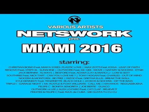 Various Artists - Miami 2016 /Electro House Dance Music Megamix. HQ Mp3