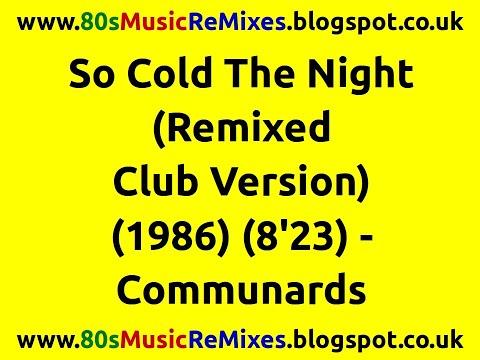 So Cold The Night (Remixed Club Version) - Communards | 80s Club Mixes | 80s Club Music | Hi Nrg 80s mp3