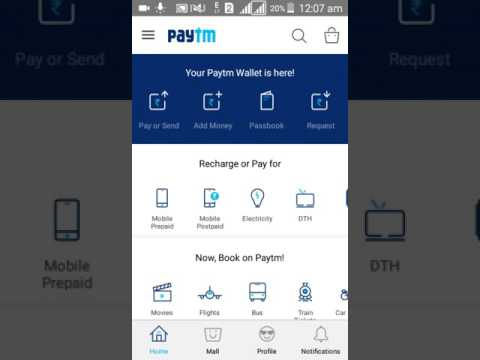 How to get 20 rs free paytm new promo code