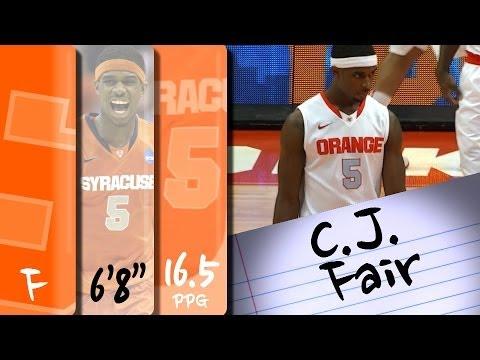 official-highlights-|-syracuse-forward-c.j.-fair