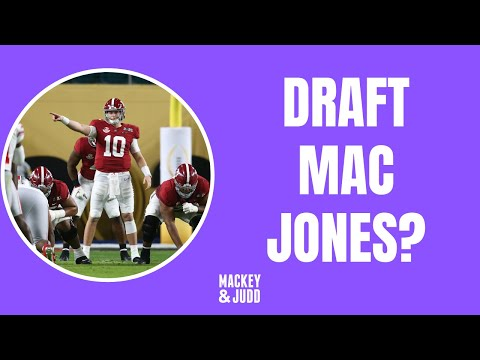 Should Minnesota Vikings draft Mac Jones?
