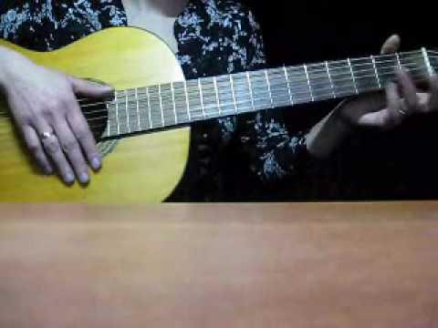 """Песня под гитару """"Мама не ругай"""" автор Виктория Юдина"""