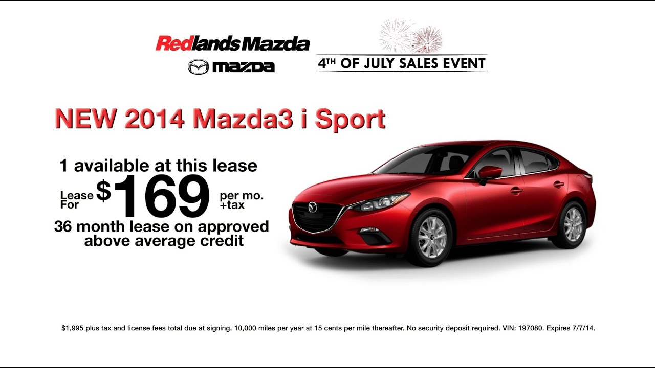 Redlands Auto Plaza Mazda Th Of July Sales Event YouTube - Mazda of redlands