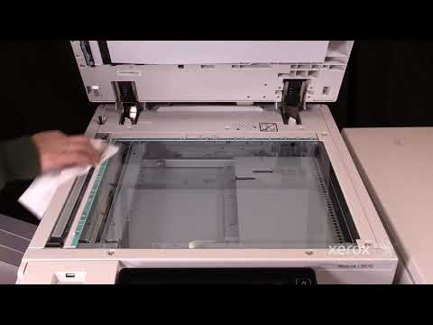 Xerox® AltaLink® C8070 Family Cleaning the CVT Glass No Audio