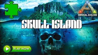 ARK BRAND *NEW* MAP! - WELCOME TO SKULL ISLAND!