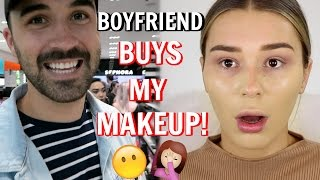 My Boyfriend Buys My Makeup | SHANI GRIMMOND