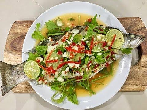 ปลากะพงนึ่งมะนาว ทำง่ายโคตร แซ่บเวอร์ l อร่อยพุง #เฟิร์มอร่อยจากเม้น