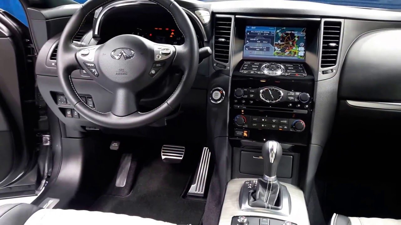 2017 infiniti qx70 limited interior walkaround 2016 new. Black Bedroom Furniture Sets. Home Design Ideas