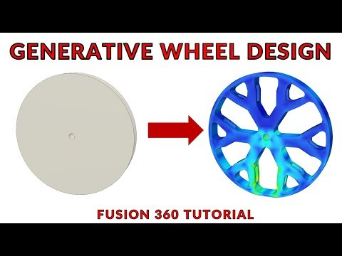 Design the Best Wheel with Fusion 360 and Generative Design thumbnail
