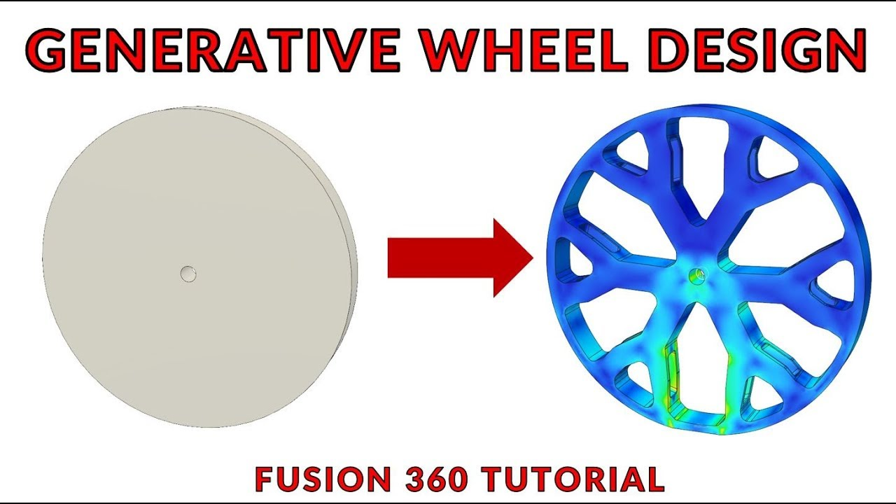 Design the Best Wheel with Fusion 360 and Generative Design