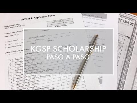 Introducción a las becas KGSP (Korean Scholarship)