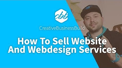 How To Sell Websites and Webdesign Services Online