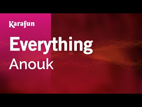Karaoke Everything - Anouk *