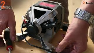 Как заменить угольные щетки двигателя в стиральной машине
