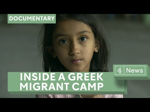 Migrant crisis: Inside a Greek camp - about to be shut down