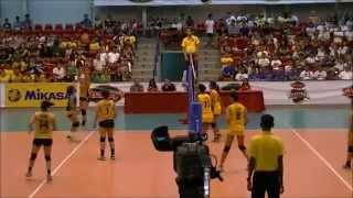 Eya Laure highlights NU vs UST shakeys girl's volleyball championship
