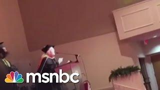 Graduate Discusses Principal's Racist Remarks | msnbc