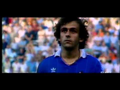 Michel Platini - I miti del calcio (parte 1/4)