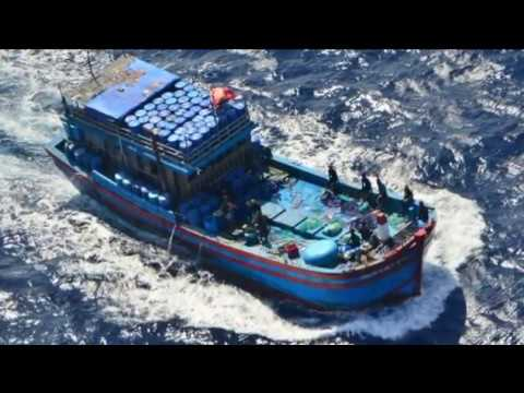Vietnamese fishermen caught in Australian waters