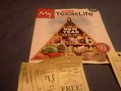 HEB coupons