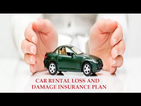 CAR RENTAL LOSS AND DAMAGE INSURANCE PLAN - DESCRIPTION OF COVERAGE