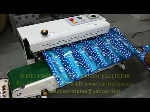 Plastic Pouch sealer machine (Band Sealer)