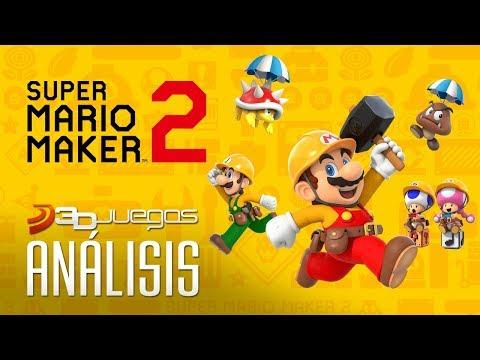 Análisis de Super Mario Maker 2: ¡conviértete en Miyamoto!