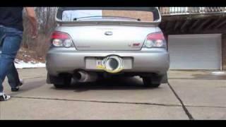 sti HKS hi power exhaust