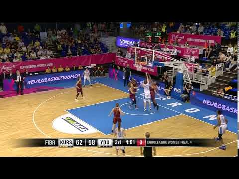 Maria Vadeeva sinks the shot at the buzzer