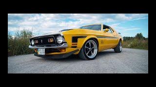 8.5л! Mustang 1971 Cobra Jet из фильма Угнать за 60 сек 1974 года.