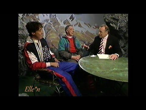 Winter Olympic Games Albertville 1992 - interview Veldkamp + dad (Gold 10 km)